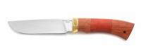Нож Волк с кожаным чехлом (сталь 65х13)