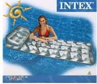 Матрас пляжный с подушкой 188 х 71 см