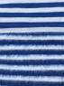 Тельняшка с начесом голубая полоса