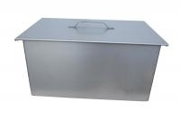 Коптильня двухъярусная с поддоном для жира 450х280х240 (К.001)