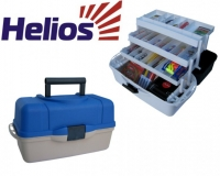 Ящик рыболова трехполочный Helios