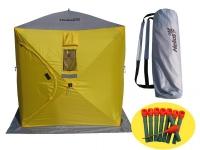 Палатка зимняя КУБ 1,5х1,5м Helios