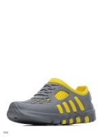 Кроссовки из ЭВА, серо-желтые