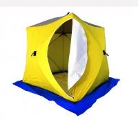 Палатка рыбака КУБ-3 трехслойная дышащая