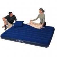 Матрас-кровать 152х203х22см с 2-мя подушками и насосом