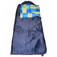 Спальный мешок БАТЫР XXL СОШ-4 (220*90) синий Helios (синтепон)