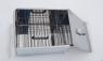 Коптильня двухъярусная с поддоном (380х280х270) Нерж.сталь
