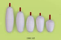 Поплавки для удочки с пластмассовой антенкой в наборе. 5шт.