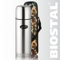 """Термос Biostal """"Охота"""" NВP-1200B (с чехлом)"""