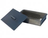 Коптильня одноярусная (380х280х140, сталь 0,5 мм)