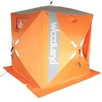 Палатка зимняя Woodland Ice Fish 2, 160х160х180 см (цвет оранжевый)